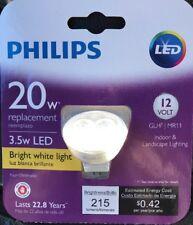 Philips 20W 454157 Equivalent Bright White (3,000K) MR11 LED Flood Light Bulb BN