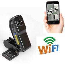 wireless WIFI mini spy IP network pinhole camera hidden nanny micro DVR recorder