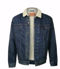 Levis Sherpa Trucker Jacket Color Denim Blue 0001