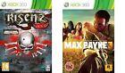 risen 2 dark waters & max payne Xbox 360 PAL NEW&SEALED