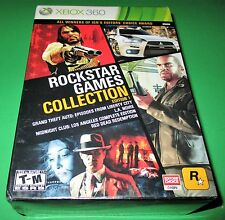 Rockstar Games Collection -- Edition 1 Microsoft Xbox 360 *4 Games! *New!