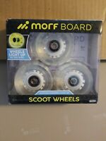 Morf Board Motion Powered Light Up Scoot Wheels Green - 3 Wheels/Pack - NEW