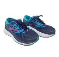 Brooks Womens Addiction 13 Athletic Running Shoes Size 8 US 2E Extra Wide Blue
