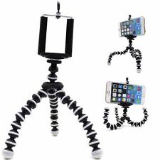 Cell phone Flexible Tripod Stand Mount Holder For Samsung Galaxy S8 iPhone Plus
