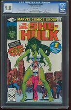 Savage She-Hulk # 1 FEBRUARY 1980 CGC 9.8 NEAR MINT/MINT Stan Lee STORY G-534