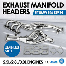 HQ Exhaust Manifold Headers Fit BMW E46 3-Series 5-Series E39 Z4 Piping Seat