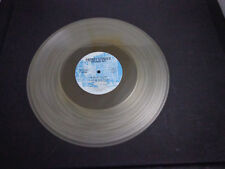 @    the NEW YORK RUBBER ROCK BAND-clear vinyl  RECORD ALBUM 1977 disc only