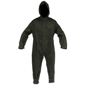 BRITISH COVERALL VEHICLE CREWMAN GB ARMY WATERPROOF FOUL WEATHER NYLON MILITARY