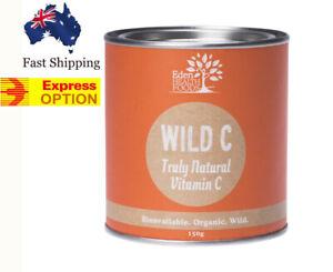 TRULY NATURAL WHOLE FOODS VITAMIN C POWDER ORGANIC WILD C RAW ANTIOXIDANT BLEND