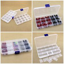 Schmuck Perlen Box Perlenbox Sortierbox Sortierkasten 15 Fächer