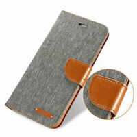 For iPhone 6 7 Plus X 8 5S Wallet Leather Case Flip Stand Phone Case Cover Skin