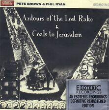 Pete Brown & Phil Ryan Ardours of Lost Rake + Coals to Jerusalem 2xCD2013 SEALED