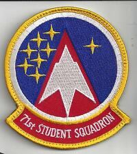 """PATCH USAF 71st STUDENT SQUADRON LATEST ISSUE 2017  4"""""""