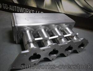 New Golden Eagle B18C LARGE PLENUM 2L Intake Manifold 90MM Throttle Body flange