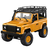 DIY Electric Off-Road Car Military Truck RC Crawler Kit For Boys 1/12 4WD 2.4G