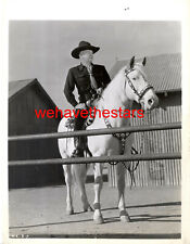 Vintage William Boyd & Topper HOPALONG CASSIDY 40s Publicity Portrait