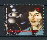 Macedonia 2018 MNH Nicolaus Copernicus 1v Set Astronomy Planets Space Stamps