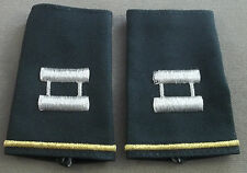 US Army Shoulder Marks - Epaulets - Captain - Small Size ( Green )