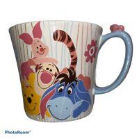Disney Store Winnie The Pooh and Friends Coffee MUG Tigger Eeyore Piglet New