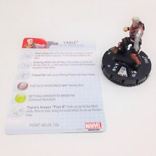 Heroclix Avengers vs X-Men set Cable #101 Limited Edition figure w/card!