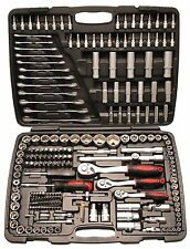 Knarrenkasten Steckschlüsselsatz Werkzeugkoffer Werkstatt Hobby 216 tlg 15216