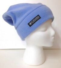 47f5b367be658e COLUMBIA FLEECE SLOUCH BEANIE Relaxed-Fit Polyester Light Blue Winter ADULT  S/M