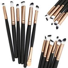 6Pcs Eyeshadow Blending Makeup Brush Set Powder Foundation Eyeliner Brushes