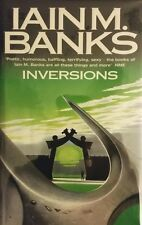 IAIN M. BANKS INVERSIONS UK IMPORT JUN 1998 HARDCOVER 1ST EDITION NEW RARE OOP