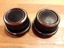 Paar Drehknöpfe aus Graetz Melodia 419 - Röhrenradio Ersatzteil