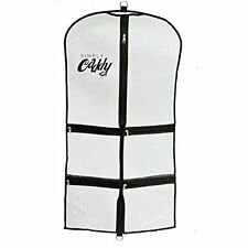 Costume Garment Bag With Pockets, Black Trim, New, Free Shipping