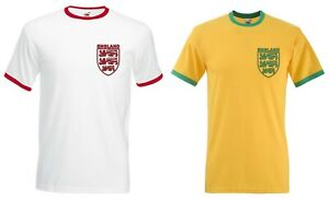 England Three Lions Retro T-Shirt - 2 Colours Available, St Georges Day, Flag