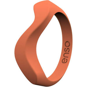 Enso Rings Wave Series Silicone Ring - Coral