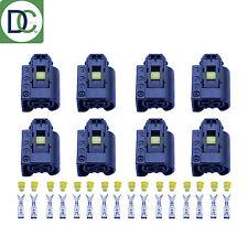 8 X MERCEDES SERIE C autentico Diesel Iniettore connettore a spina Bosch Common Rail