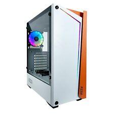 AZZA Apollo 430W DF2 White Gaming-Gehäuse ATX mATX RGB LED Glasfenster MidiTower