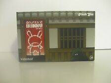 Kidrobot HUCK GEE Gold Life KABUKI & KITSUNE Black Dunny KR Vinyl SIGNED Duo