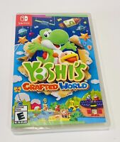 Yoshi's Crafted World Nintendo Switch - BRAND NEW - Factory SEALED - Ships Fast