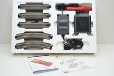 Roco 10810 Multimaus con 70764 e Trasformatore 10725 50VA e Binari Dal Set 41273