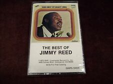 "JIMMY REED ""THE BEST OF..."" CS TAPE SEALED CRECENDO USA 1973 GUITAR BLUES ETC"