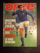 RARE ONZE n° 25 1978 ZICO Michel PLATINI Mondial foot football mundial  photos !
