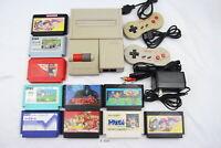 Fully Tested! Nintendo New Famicom Console AV NES AC100V NTSC-J Japan #3321
