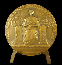 Medaille Compagnie Royal assurance La Nationale 1830-1930 sc Alloy 69 mm medal