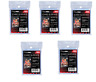 (500) Ultra Pro Soft Trading Card Sleeves (5 Packs) Zip Pouch Acid Free No PVC