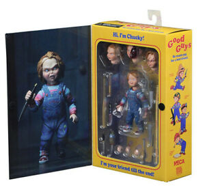 Movie Child's Play Chucky cult Deluxe Edition Horror Ghost Doll action Figure