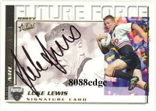 2002 SELECT NRL FUTURE FORCE SIGNATURE: LUKE LEWIS #FF28 PENRITH PANTHERS /550