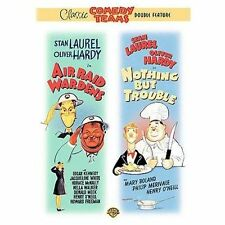 Laurel and Hardy - Air Raid Wardens/Nothing But Trouble (DVD) NEW FREE SHIPPING