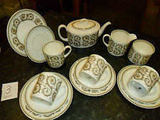 Wedgwood Susie Cooper Venetia tea set teapot cup and saucer - side plate x4