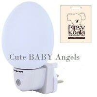 Pipsy Koala Soft Dome Automatic Nightlight Baby Nursery Safety LED Light Bulb