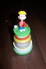 Peanuts Lucy Van Pelt All Stars Baseball Candle Jar Avon NIB original owner