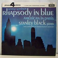 33T G GERSHWIN LP 12 RHAPSODY IN BLUE AMERICAIN PARIS BLACK Piano PHASE 4 STEREO