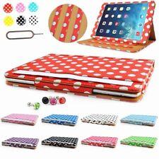 Polka Dots & Tan Leather case cover for iPad air / iPad  5